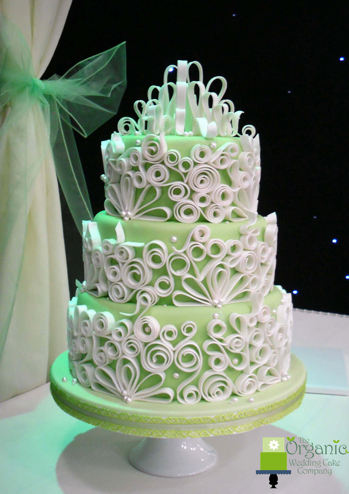 organic wedding cake company