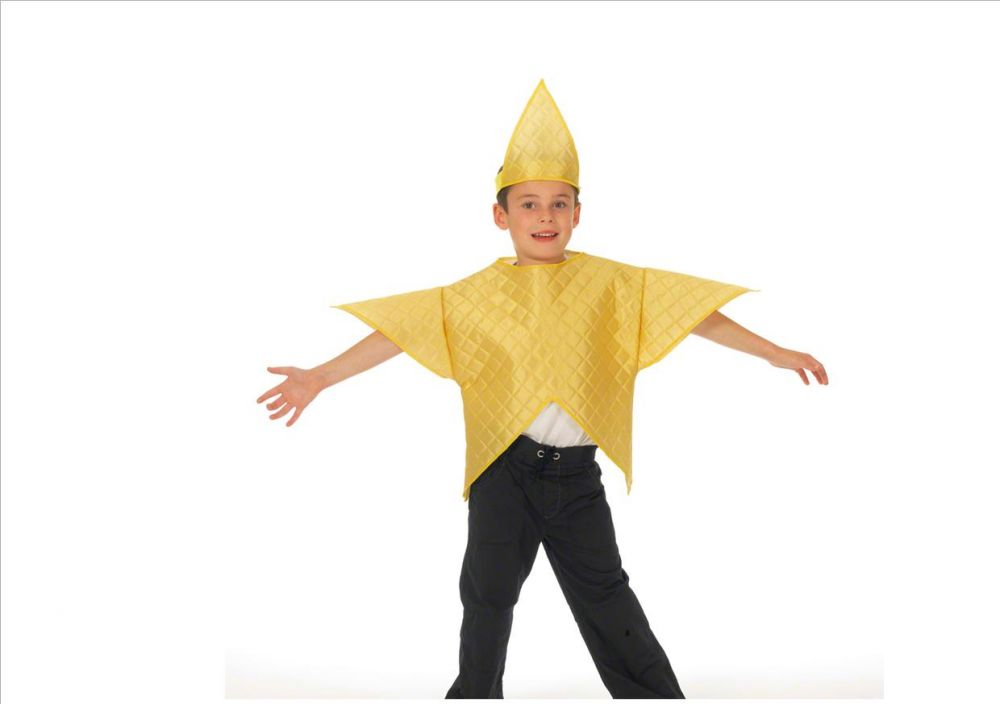 Children s nativity star tabard costume from the event experts the