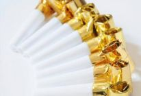 Gold Foil Blowouts 100pcs