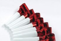 Red Foil Blowouts 100pcs