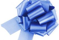 Product image for Royal Blue Easy-tie Pull-Bows / Ribbon Bows For Weddings And Parties / Pack Of 20