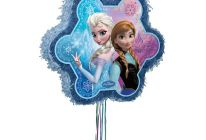 Product image for Disney Frozen Themed Pinata With Pull Strings + Blindfold Mask