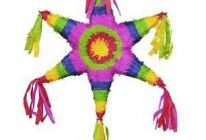 Product image for Mexican Star Pinata + Pinata Buster Stick + Blindfold Mask
