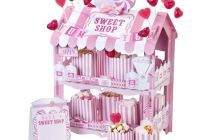 Product image for Sweet Shop Treat Stand / Pink
