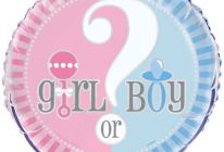 "Product image for 18"" Foil Helium Balloon / Baby Girl Or Baby Boy?"
