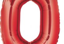 Product image for Giant Red Foil Balloon #0