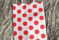 Product image for Red Polka Dot Favour Bags / Pack Of 12