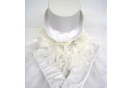 Hen Party Pack In White With Top Hat