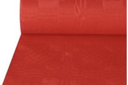 25m Bright Red Disposable Banqueting Roll