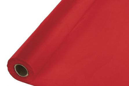 8m Red Disposable Banqueting Roll