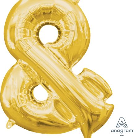 Product image for Air-Filled Foil Letter Balloons